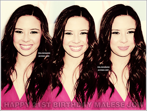 .HAPPY 21ST BIRTHDAY ELIZABETH MELISE JOW ! - 18 février 1991....