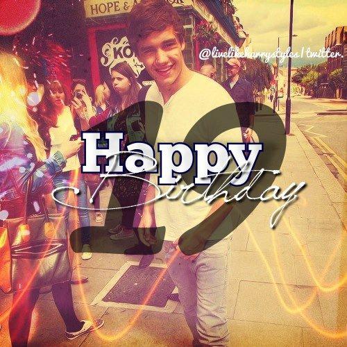 HAPPY BIRTHDAY LIAM <3