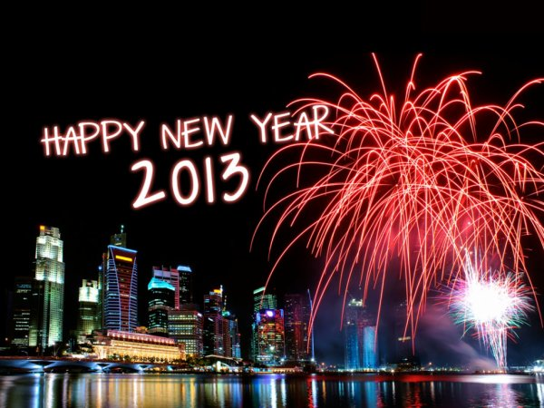 Happy New Year a vous pour 2013 <3