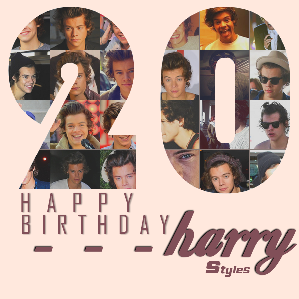 Happy Birthday a notre Harry chéri ! <3