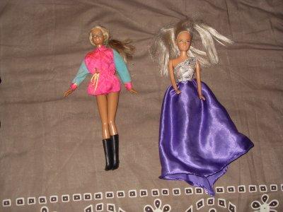2 Barbies trouvé aussi sur un VDG