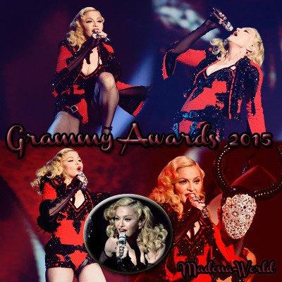 Créa Madonna Grammy's