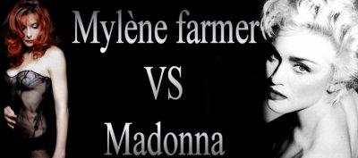 10 points communs entre MADONNA et MYLÈNE FARMER