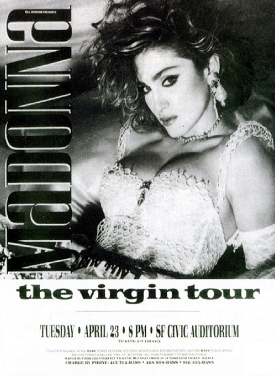 The Virgin TOUR - 1985
