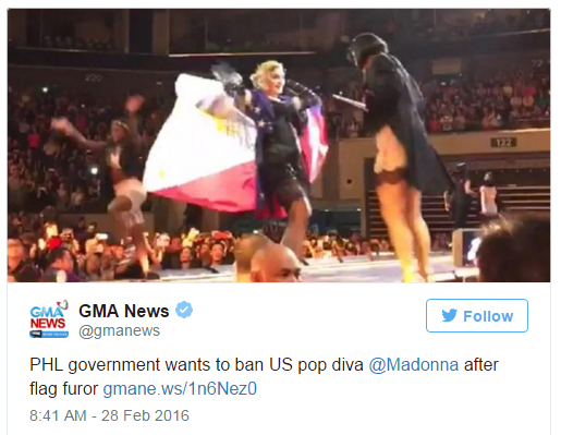 Madonna s'est encore mise dans de beaux drapeaux !