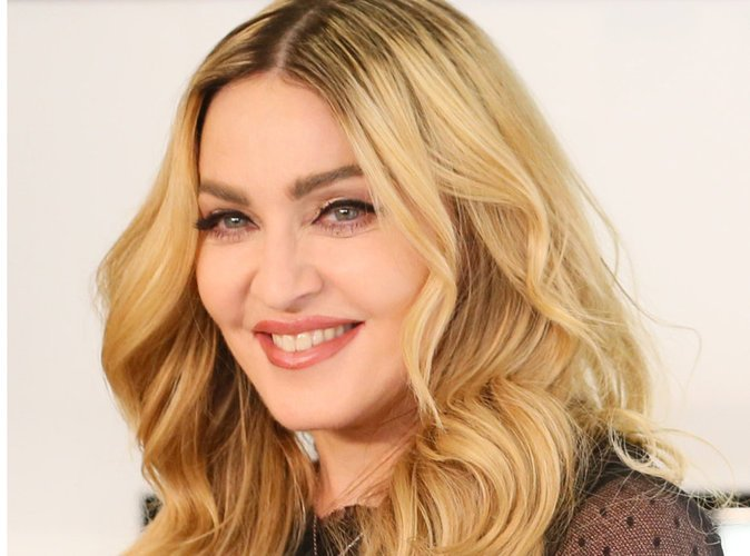 Madonna in TV show