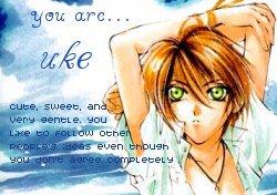 Uke ou Seme?