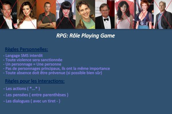 RPG Ncis Enquêtes Spéciales: Rôle Playing Game