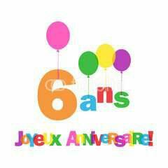 Le blog fête aujourd'hui ses 6 ans!