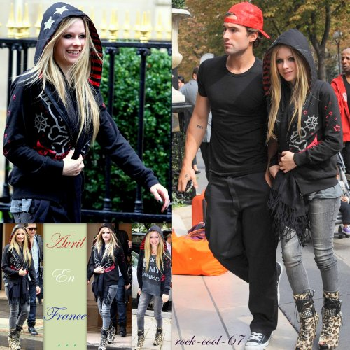 Avril Lavigne en France