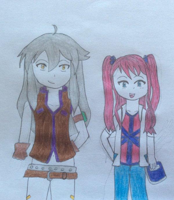 Henna et Tsubasa