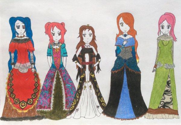 Les 5 princesses (temps passé dessus : entre 21 heures 32 minutes et 21 heures 52 minutes. je ne plaisante pas.)