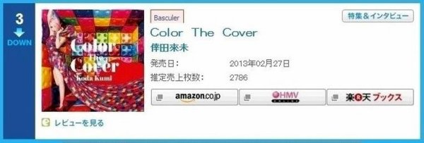 Color The Cover - Oricon - Jour #5