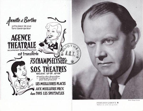 ledoux fernand acteur 1954