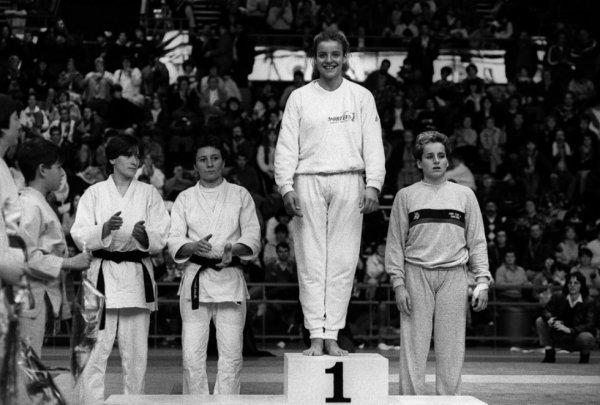 celine geraud  au judo 2 èm parution