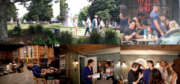 Photos exclusives du tournages de la saison 3 de Vampire Diaries. Ton avis ?