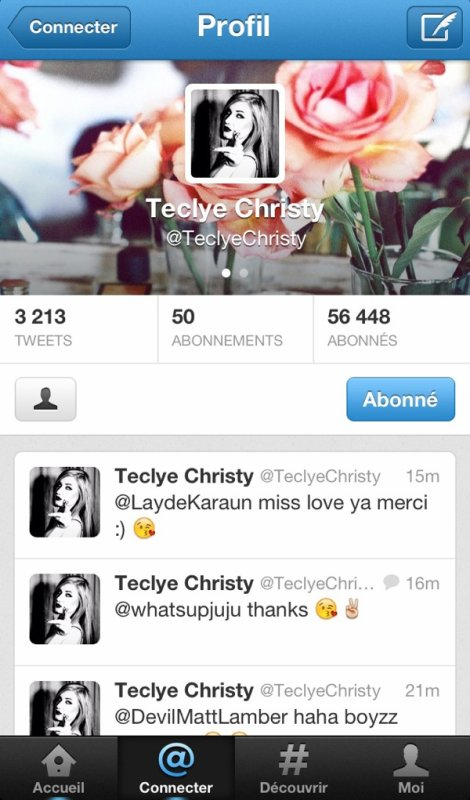 Follow Teclye.