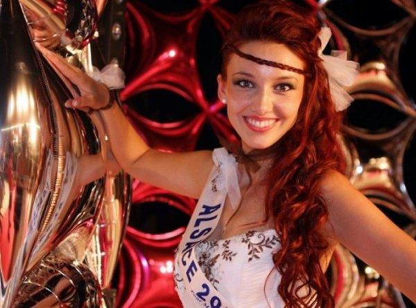 Miss France 2012 est  :Miss Alsace 2011, Delphine Wespirer.