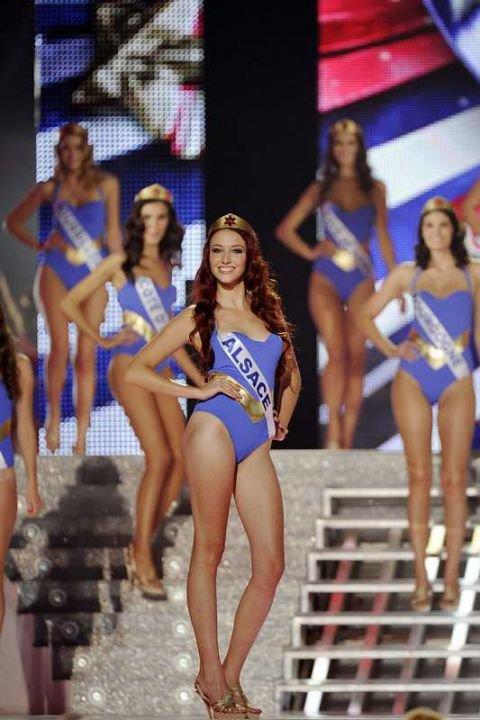 Miss Alsace est devenue samedi soir à Brest Miss France 2012