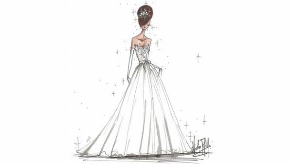 Exclusivité : la robe de Miss France 2013