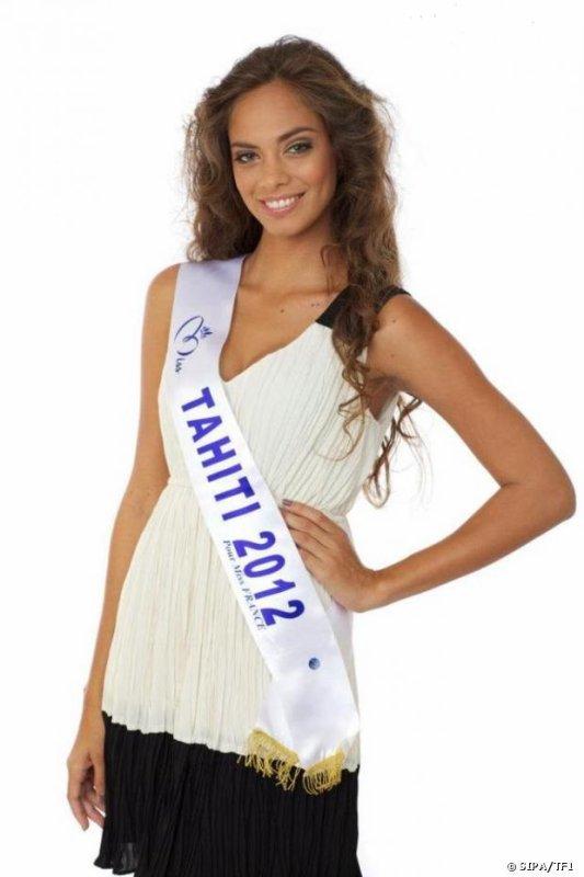 Miss France 2013 - Hinarani, Miss Tahiti : La bombe n'a pas dit son dernier mot