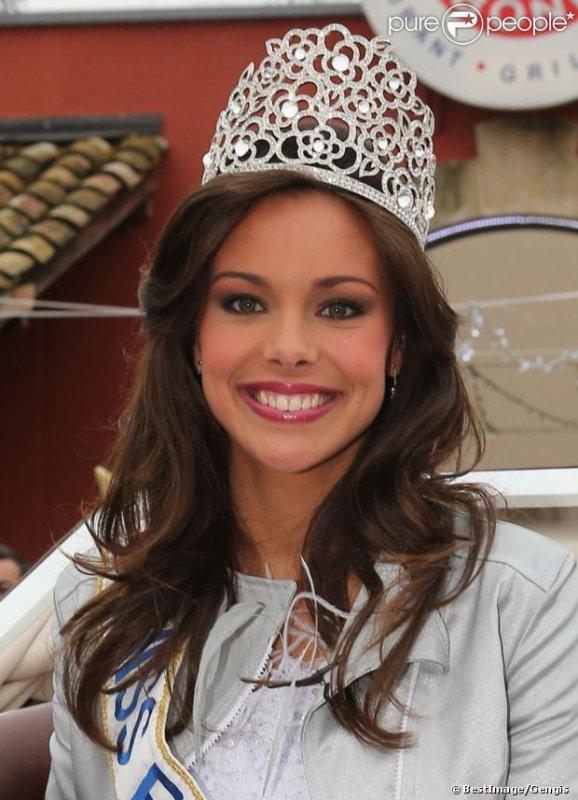 Marine Lorphelin, Miss France 2013 rentre chez elle à Charnay-Lès-Mâcon