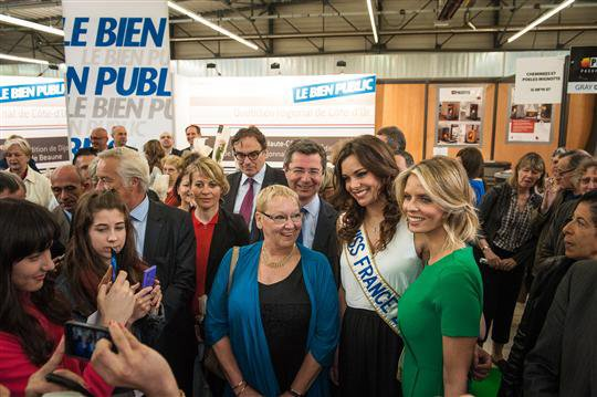Le Zénith de Dijon accueille l'élection de Miss France 2014