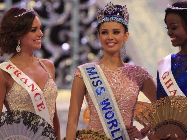 Miss Philippine a été élue Miss Monde 2013, Miss France, alias Marine Lorphelin, est sa 1ere dauphine