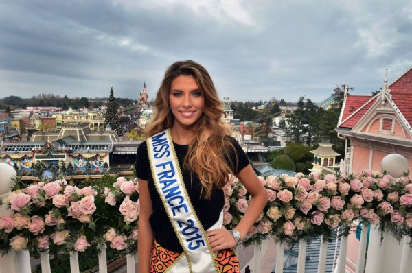 Notre nouvelle miss France 2015 , Camille Cerf miss Nord pas de Calais .