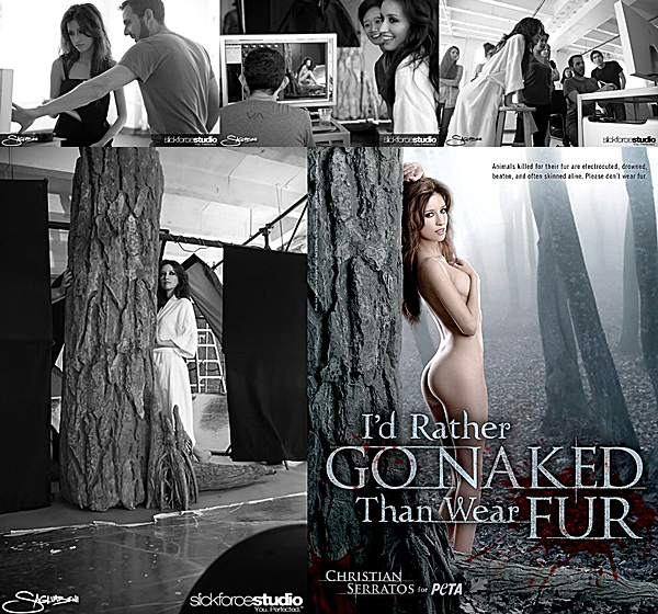2009 | PETA 'I'd Rather Go Naked Than Wear Fur'