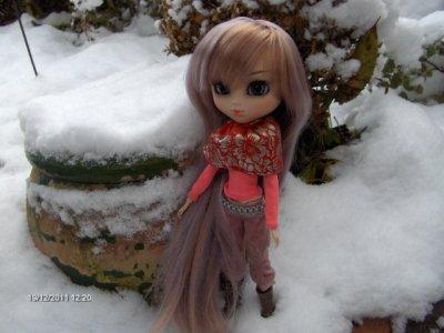 Misty et la neige / Séance Photos N°3 (1)