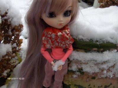 Misty et la neige / Séance photo N°3 (2)