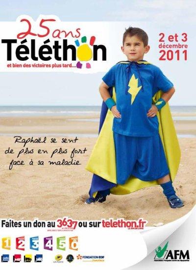 Telethon 2011, par Isis