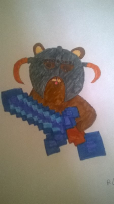 Voici le Pedovahkiin Minecraft !!!