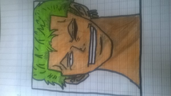 Zoro de One Piece.... Pas terrible