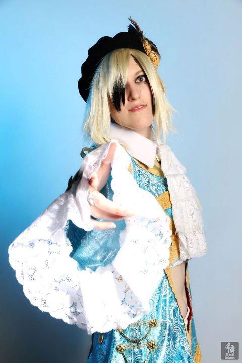 Cosplay du guitariste Teru du groupe Versailles ~