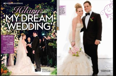 Mariage de Hilary Duff!!! , blog de stars