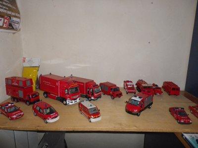 ensemble de mes miniatures