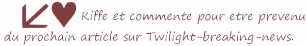 Twilight Révélation 2ème Partie - Extrait du Teaser VOST.Ne pas regarder si vous voulez garder la surprise !