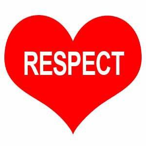 respect les autres si tu veux qu'on te respect