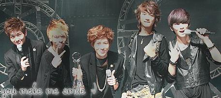 SHINee - Un merci est toujours le bienvenue :D