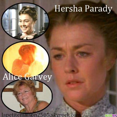 Alice Garvey / Hersha Parady
