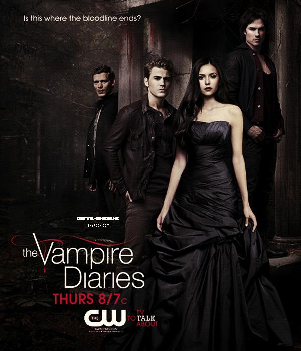_________________________  Nouvelles photos promotionnelles de la saison 3 de Vampire Diaries.  _________________________