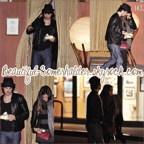 _________________________  06/05/12 : Ian et Nina ont été vu dinant à Shima.  _________________________
