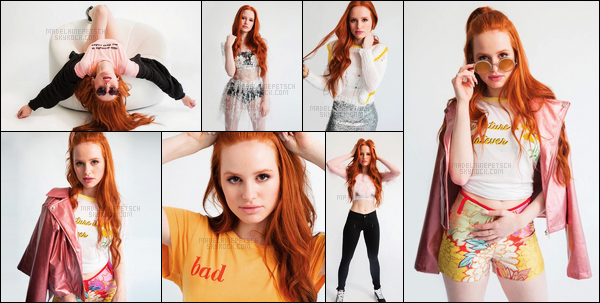 . Madelaine Petsch   pose pour le magazine « Popular » issue du mois de juin 2017 .