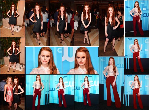 . 18.05.17 - Madelaine Petsch accompagnée du cast deRiverdaleétait présente au«CW Network's 2017 Upfront» J'aime énormément sa tenue lors de l'événement, elle s'est d'ailleurs rendue ensuite à l'after party, toujours au London Hotel, de NY ! .