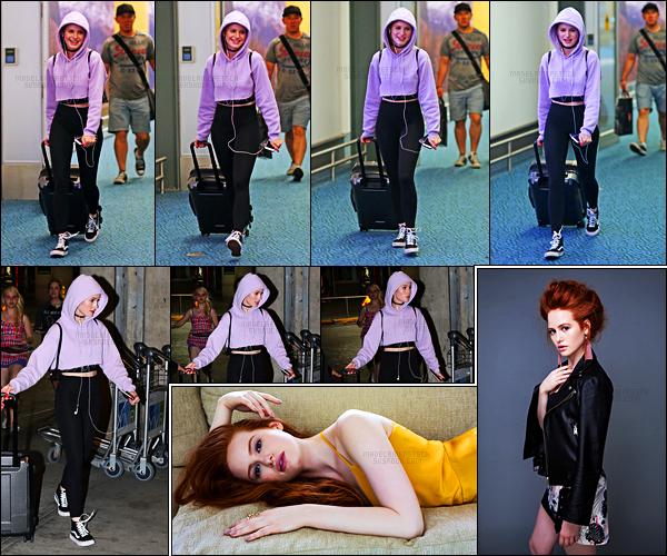 . 16.07.17 - Madelaine Petsch, a été aperçue par les paparazzis, de retour à l'aéroport de Vancouver, situé auCanada! Découvrez également deux nouvelles photos de Mad' réalisées parGilles Toucas pour Stylecaster, elles sont superbes, j'adore, Beau top ! .