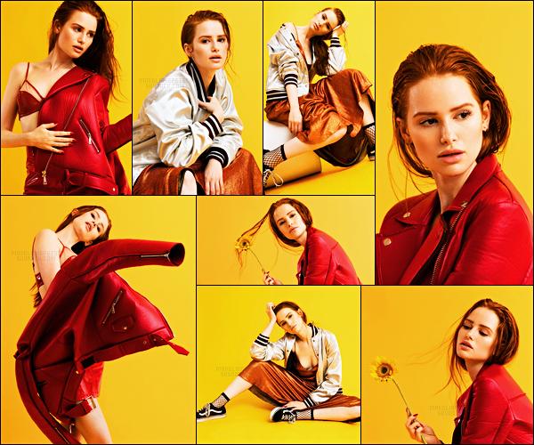. Madelaine Petsch sous les flashs de Ruben Chamorro pour « Cosmopolitan » .