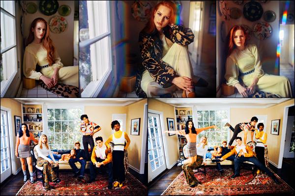 . Madelaine Petsch photographiée par Evaan Kheraj pour le • « Teen Vogue » .