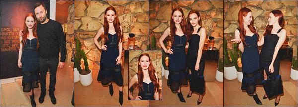 . 02.03.18 - Madelaine Petschs'est rendue au lancement du premier parfum de «Proenza Schouler's » '▬'dansBH! La belle rousse c'est rendue au lancement du parfum de P.S où d'autres stars comme Nina Dobrev et Emma Roberts été aussi présentes. .